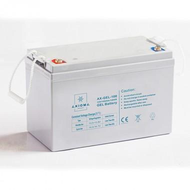 Aккумуляторная батарея AXIOMA ENERGY AX-GEL-100 (12В 100Ач) купить, цена в Киеве | Solar Energy