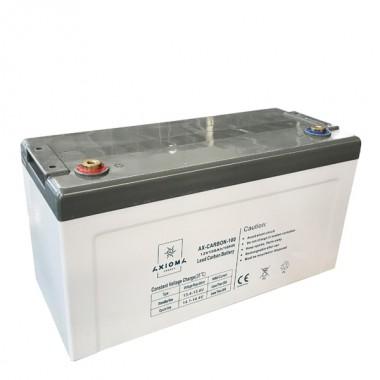 Свинцево-вуглецева акумуляторна батарея AXIOMA ENERGY AX-Carbon-100 (12В 100Ач) купити, ціна в Києві | Solar Energy