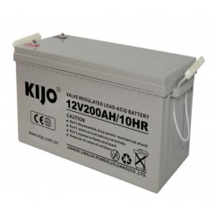 Aккумуляторна батарея Kijo JDG 12V 200Ah GEL