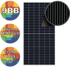 Сонячна батарея (панель) Risen  RSM144-9-535M 9BB 182mm, 535Вт монокристалічна