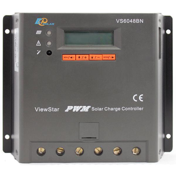 Контролер EPSolar VS6048BN, 60А 12/24/36/48В