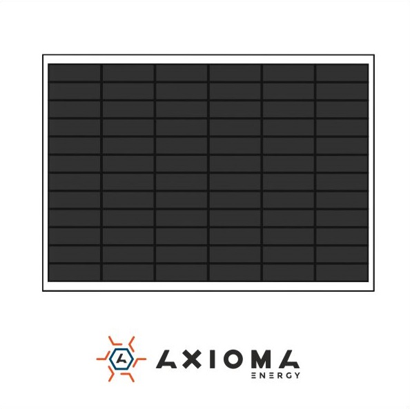 Сонячна батарея (панель) AXIOMA energy AX-100M, 100Вт, 12В