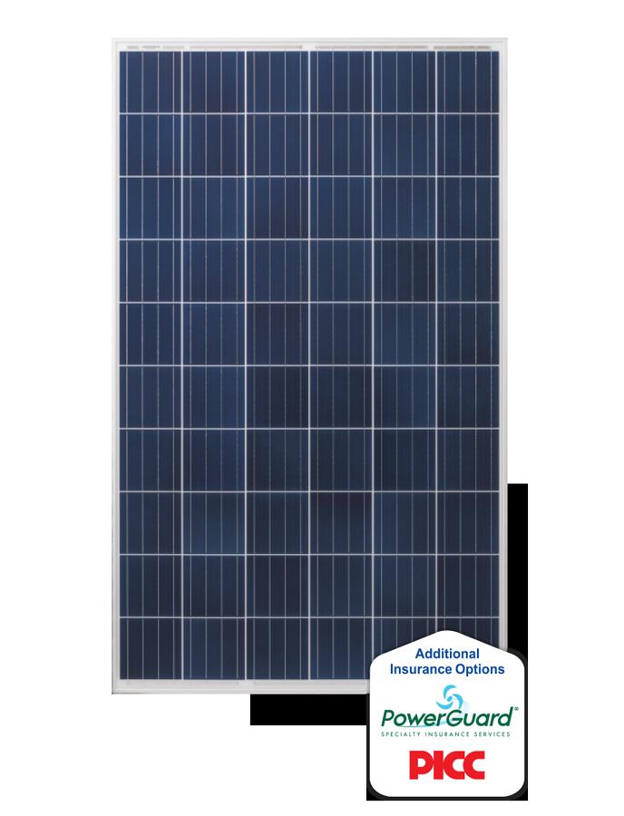 полікристалічні сонячні панелі (батареї)